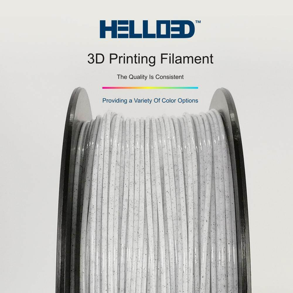 Hello3D 3D printer 1.75mm Marble like PLA Filament, Net 1 kg, Dimensional Accuracy +/- 0.03 mm