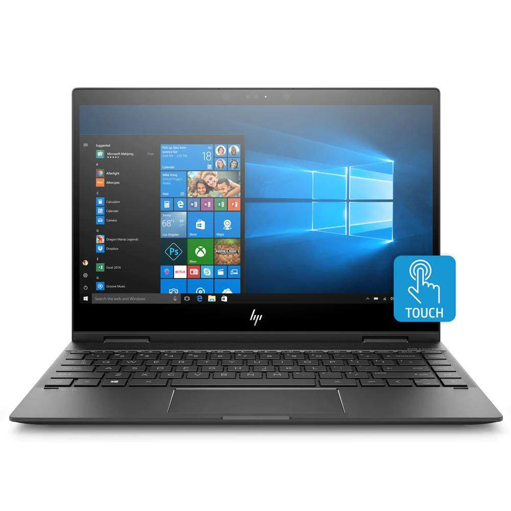 HP ENVY x360 13-ag0003AU Notebook (Ryzen 5-2500U/8GB RAM/256GB SSD/Win 10/Dark Ash Silver) + Free Sleeve Bag Malaysia