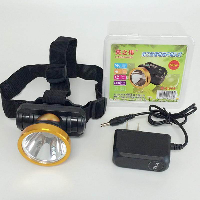 50w Led Headlamp Strong Power Charging Headlight Flashlight Hunting Head Light By The North Star.