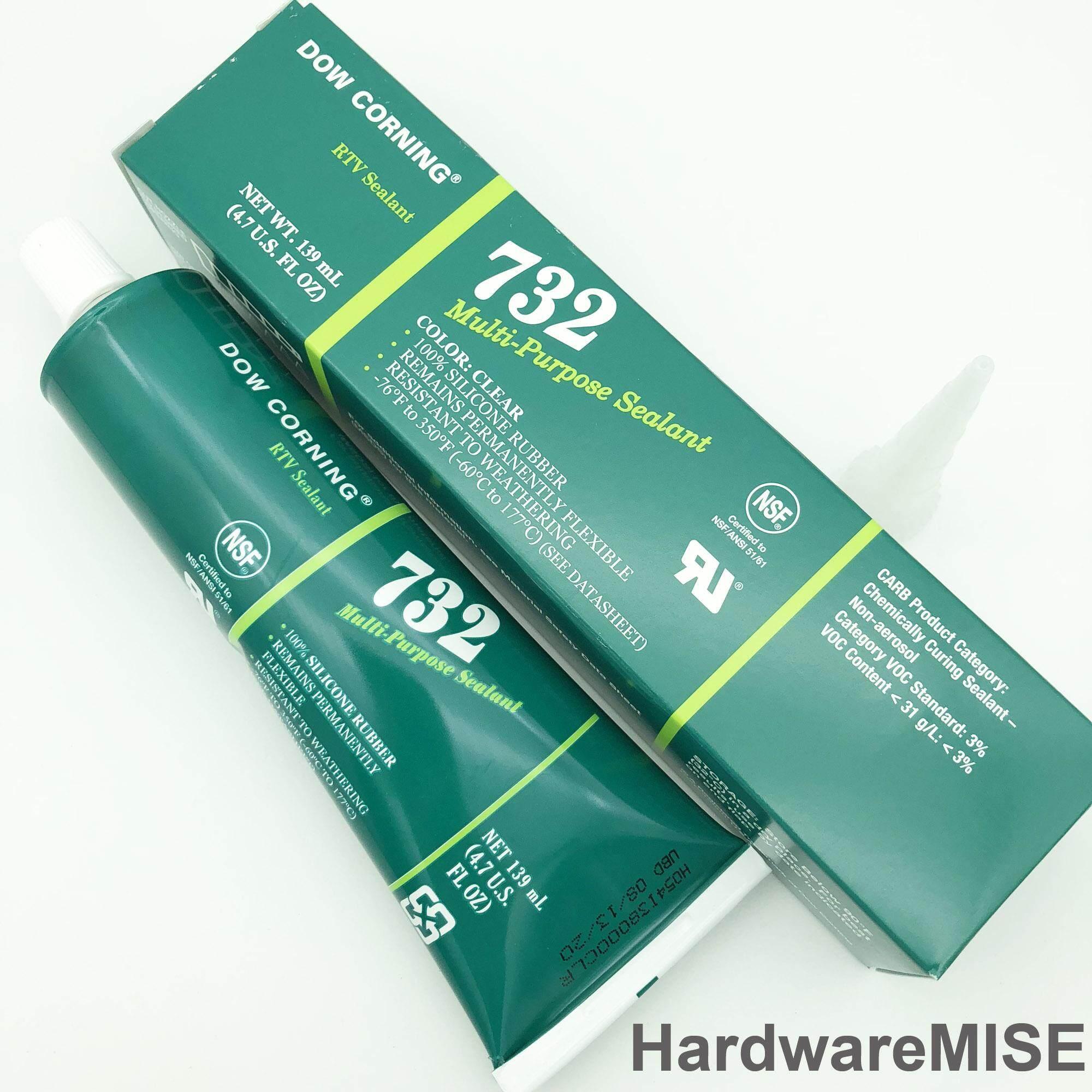 Dow Corning 732 Multi-Purpose Silicone Sealant 139ml per tube