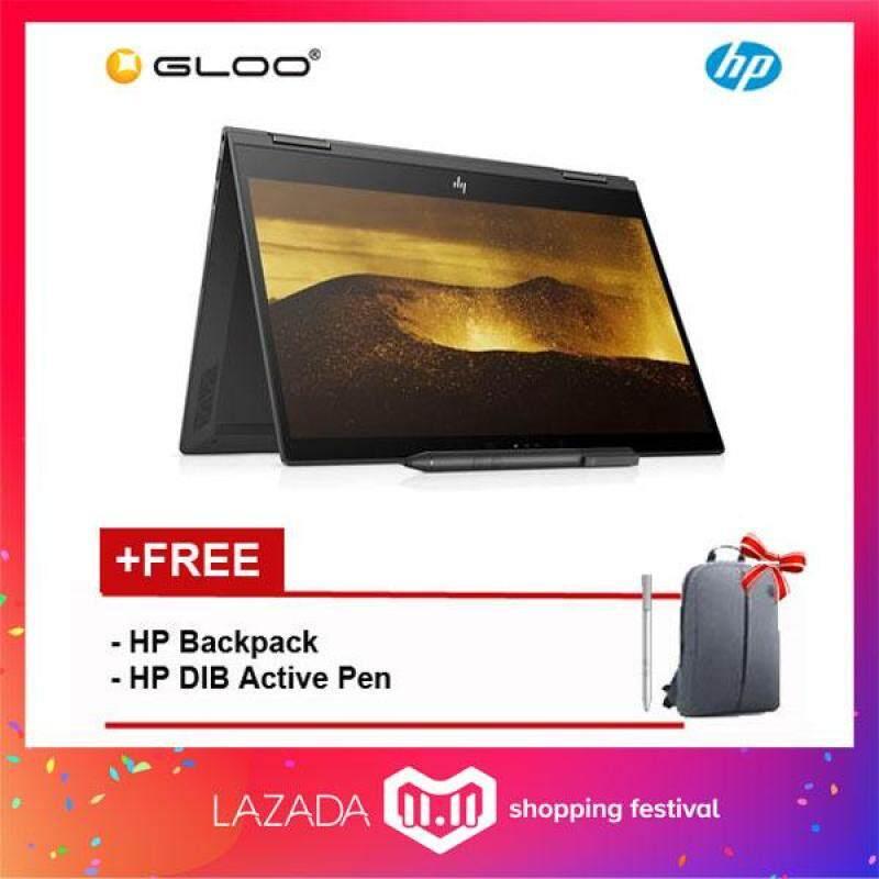 NEW HP ENVY x360 13-ag0001AU (Ryzen3-2300U 8GB 256GB SSD UMA)(Dark Ash Silver) Malaysia