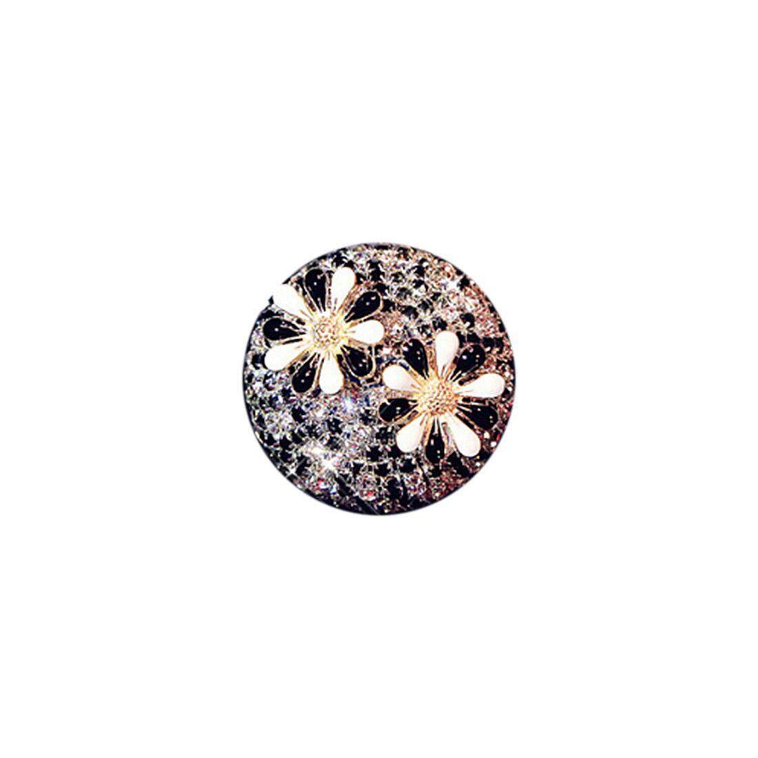Car Perfume Diamond Clip (two Flowers Pattern) Sun5 By Sunnny2015