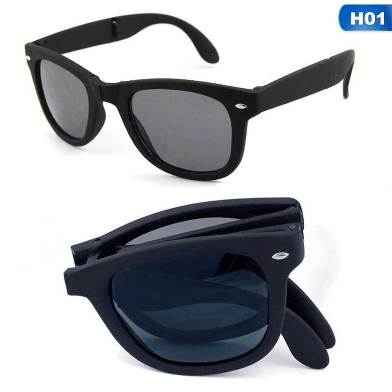 SYS Foldable Sunglasses with Box Original Folding Glasses Men Women Brand Design Sun Glasses H01 Malaysia
