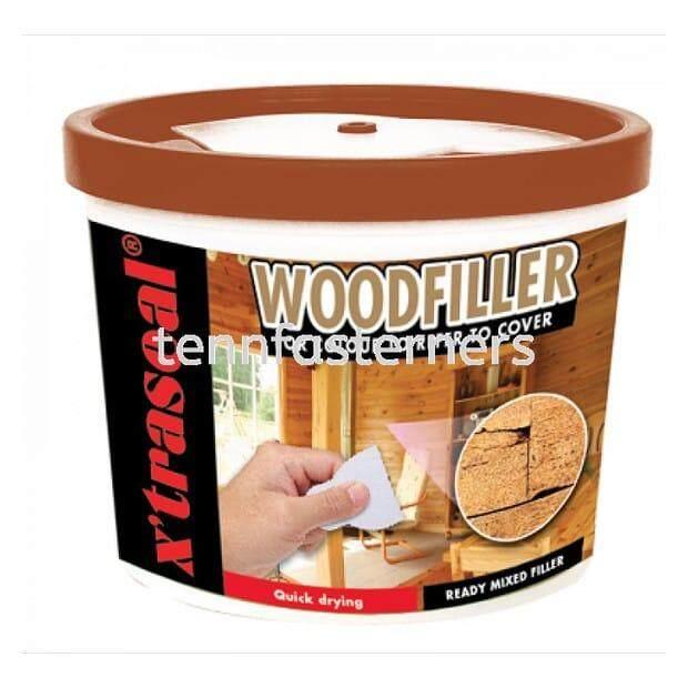 0.5Kg X Seal Woodfiller-Teak