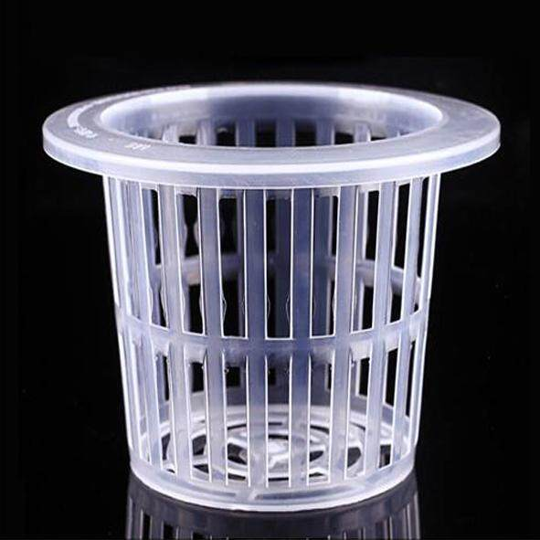 100MM 10pcs Cup Mesh Pot Hydroponic Aquaponic Vegetable Garden Plant Basket Aeroponic Net Pot