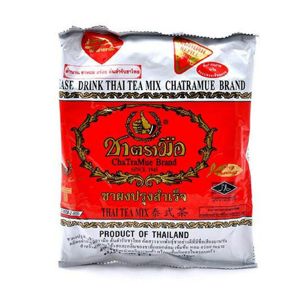 Thai Red Tea Cha Tramue (400g) By King Smile Group.