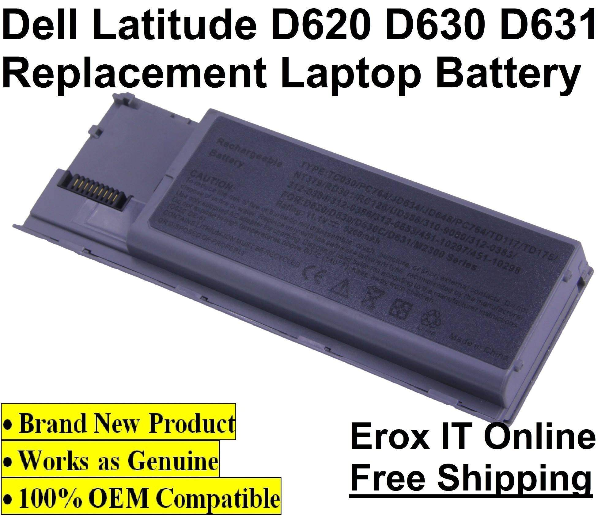 Replacement Laptop Battery for Dell OGD775 /Dell D620 Laptop Battery Malaysia