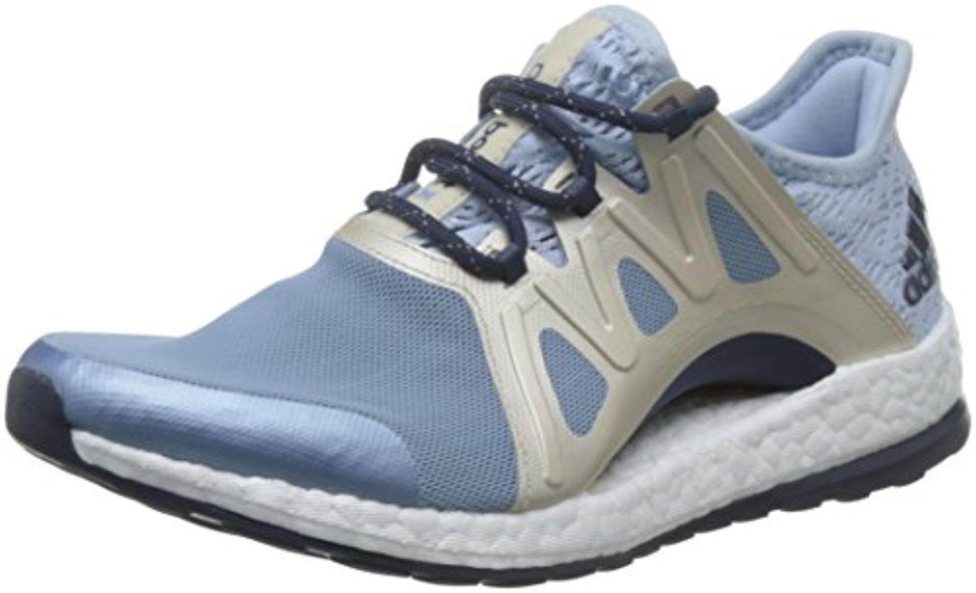 watch df7a5 e31cd adidas Women s Pureboost Xpose Clima Tacblu, Easblu and Linen Running Shoes  - 4 UK