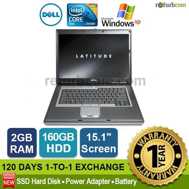 DELL LATITUDE D830 / CORE 2 DUO (160 SATA HDD) [refurbished] Malaysia