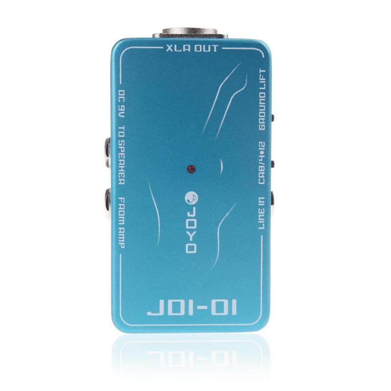 JOYO JDI-01 DI Box Passive Direct Box Amp Simulation Guitar Effect Pedal Blue Malaysia