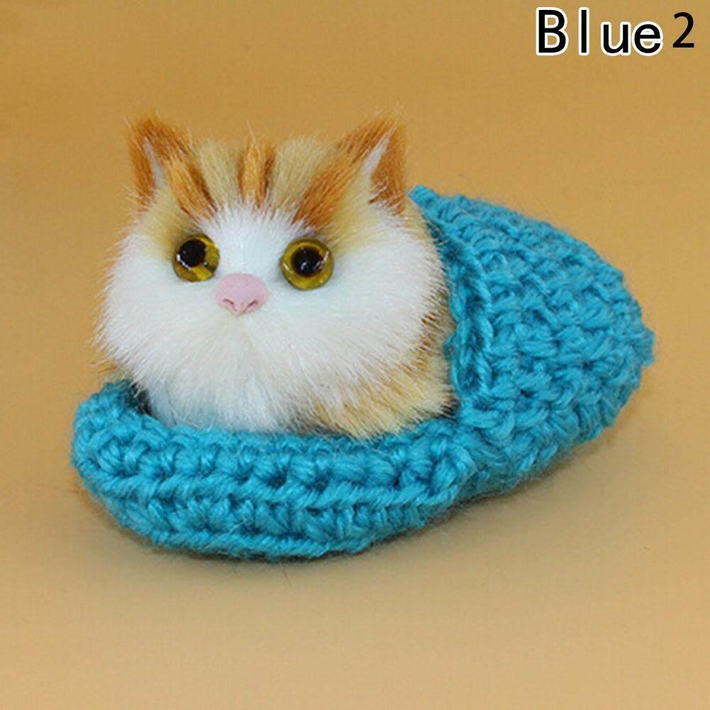 9573e6d63a36 Lovely Can Speak Plush Cat Soft Doll Toys Lifelike Simulation Kids Xmas