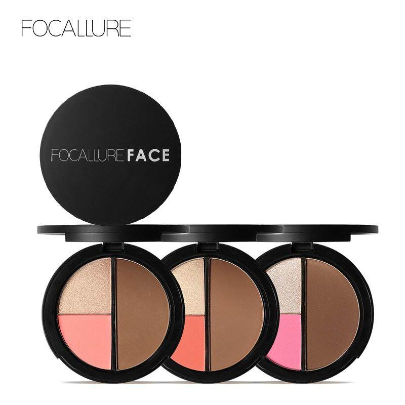 3 In 1 Highlight Blush And Contour Palette Fa20 By Glamhouse.