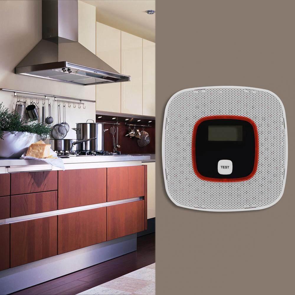 CO Detector Human Voice LED Display Alarm CO Leakage Sensor