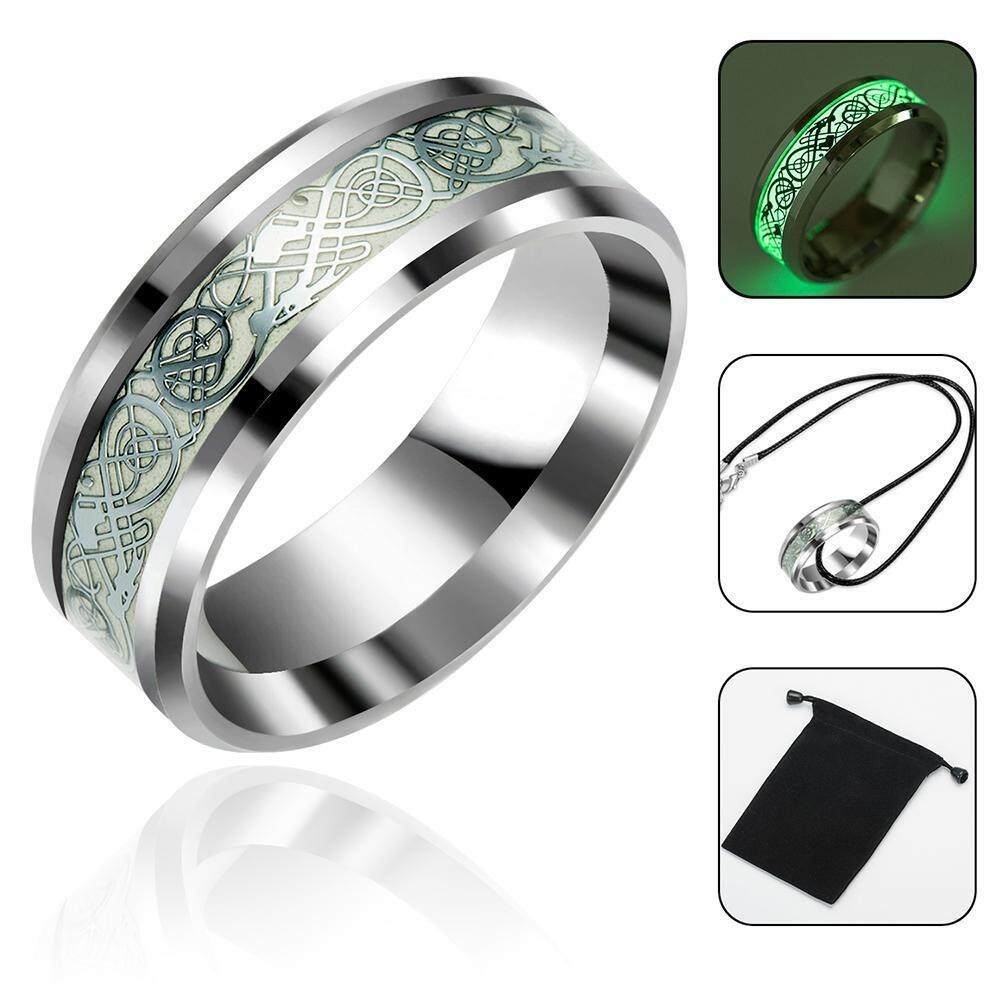 97d6da77390 leegoal Stainless Steel Ring Band Engagement Silver Ring Men Size 6 To 13 Wedding  Band Jewelry