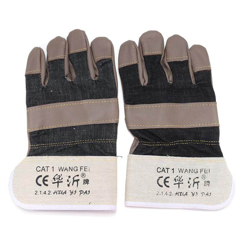 Huayi brand color leather leather short leather glove labor protection gloves