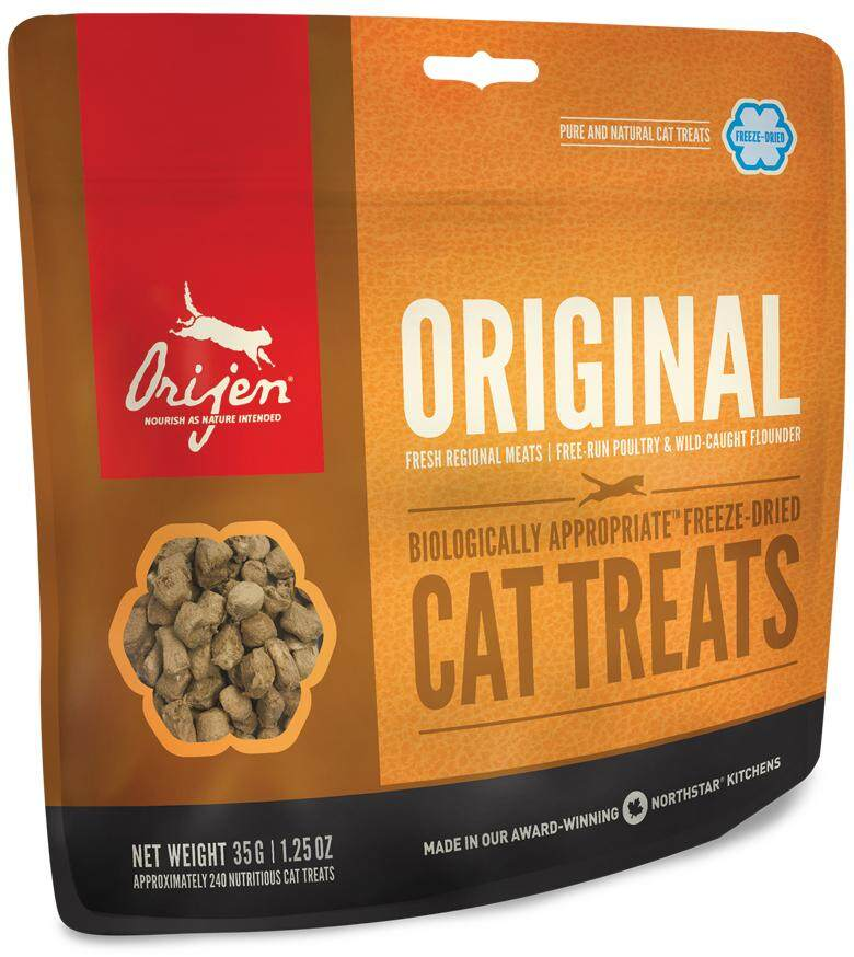 Orijen Original Treats 35g By Always Cat Lover.