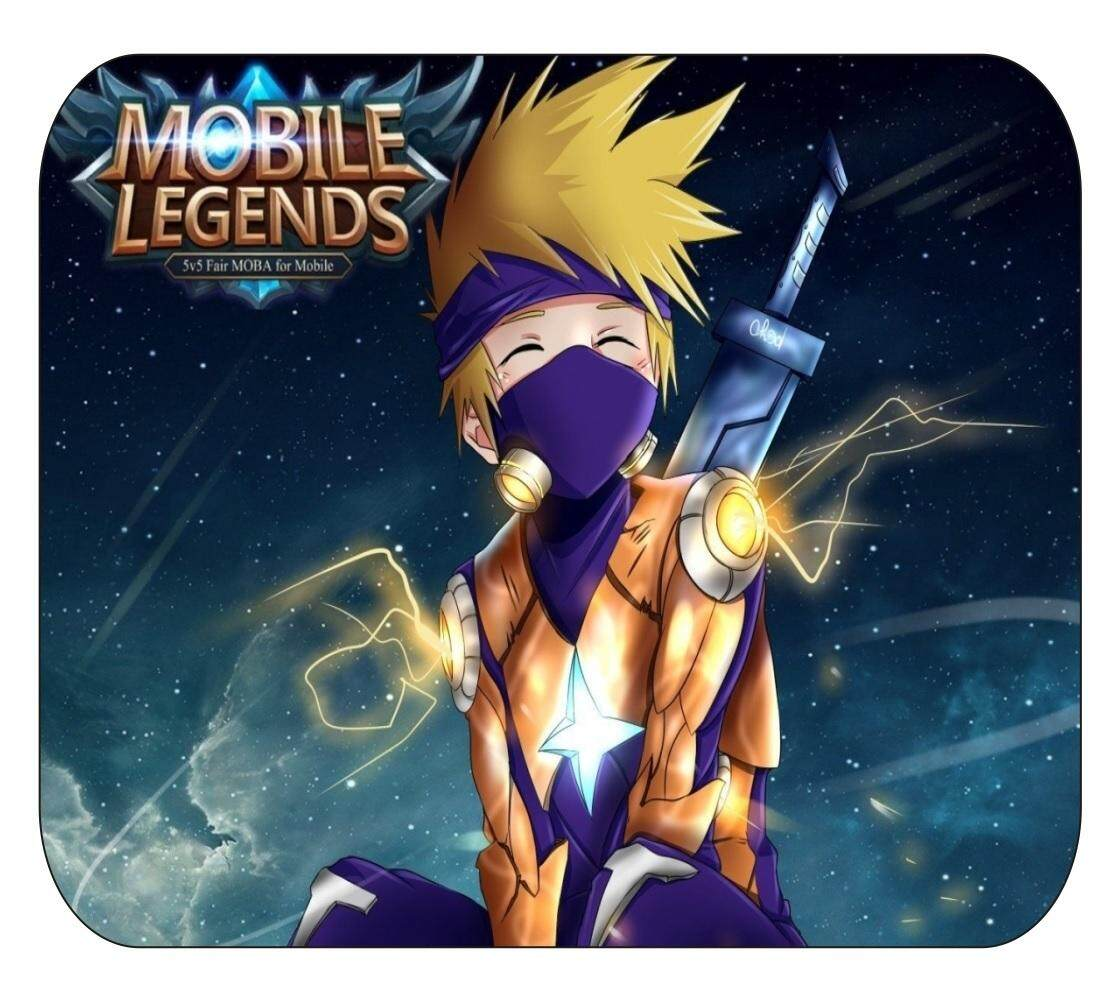 Mobile Legend Standard Size High Quality Rubber Gaming Mouse Pad Malaysia