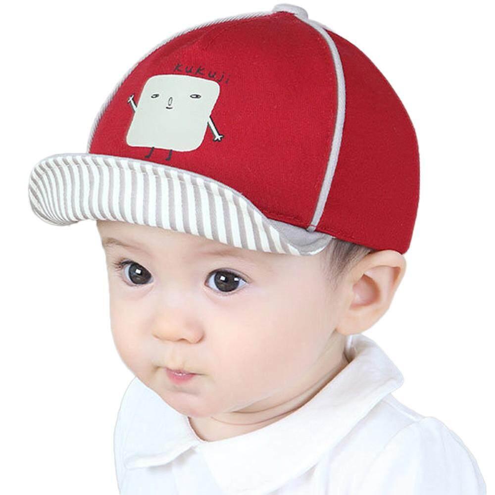 Tideshop Cute Infant Kids Bongrace Hat Peak Robot Printing Baseball Cap  Sunhat