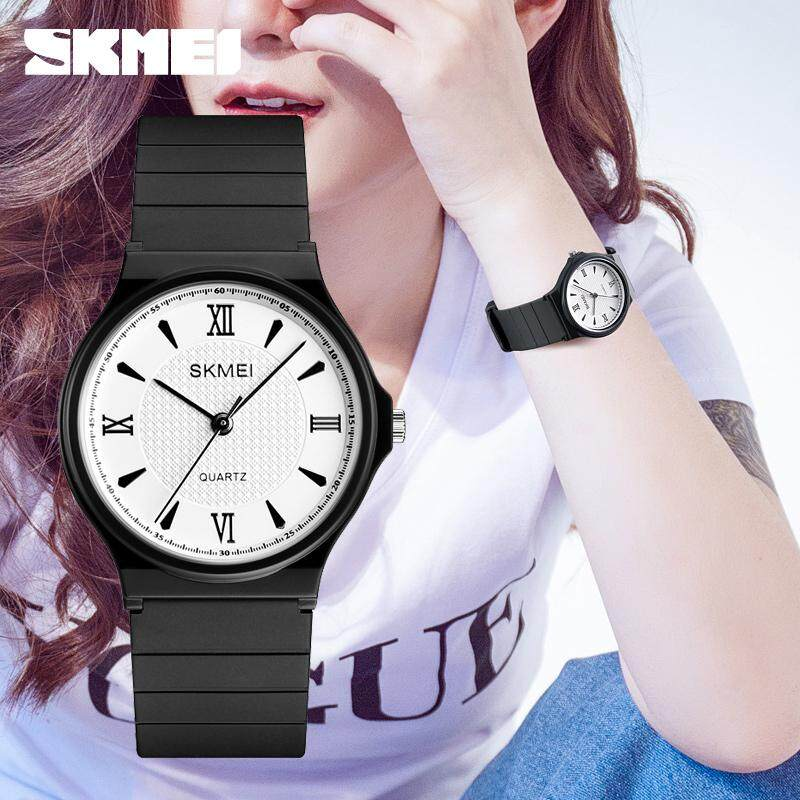 SKMEI New Women Fashion Watch Simple Quartz  Elegant Retro Watches 30M Waterproof Ladies Jam tangan wanita 1422 Malaysia