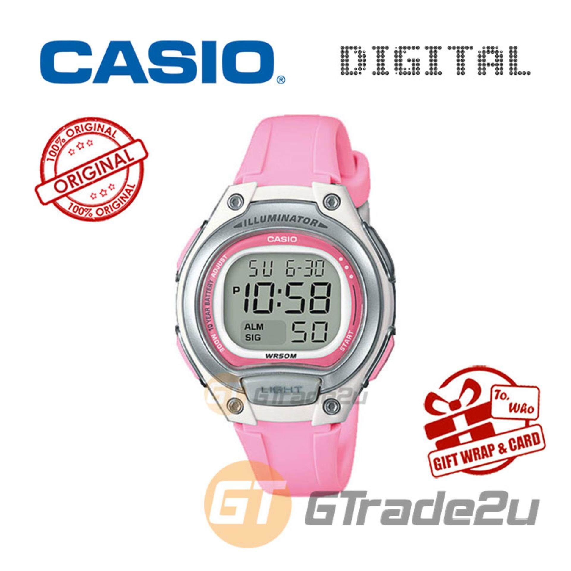 Casio Watches With Best Price At Lazada Malaysia Databank Ca 506 1df Jam Tangan Pria Silver Strap Stainless Steel Kids Ladies Lw 203 4a Digital Watch Cool Futuristic Standout