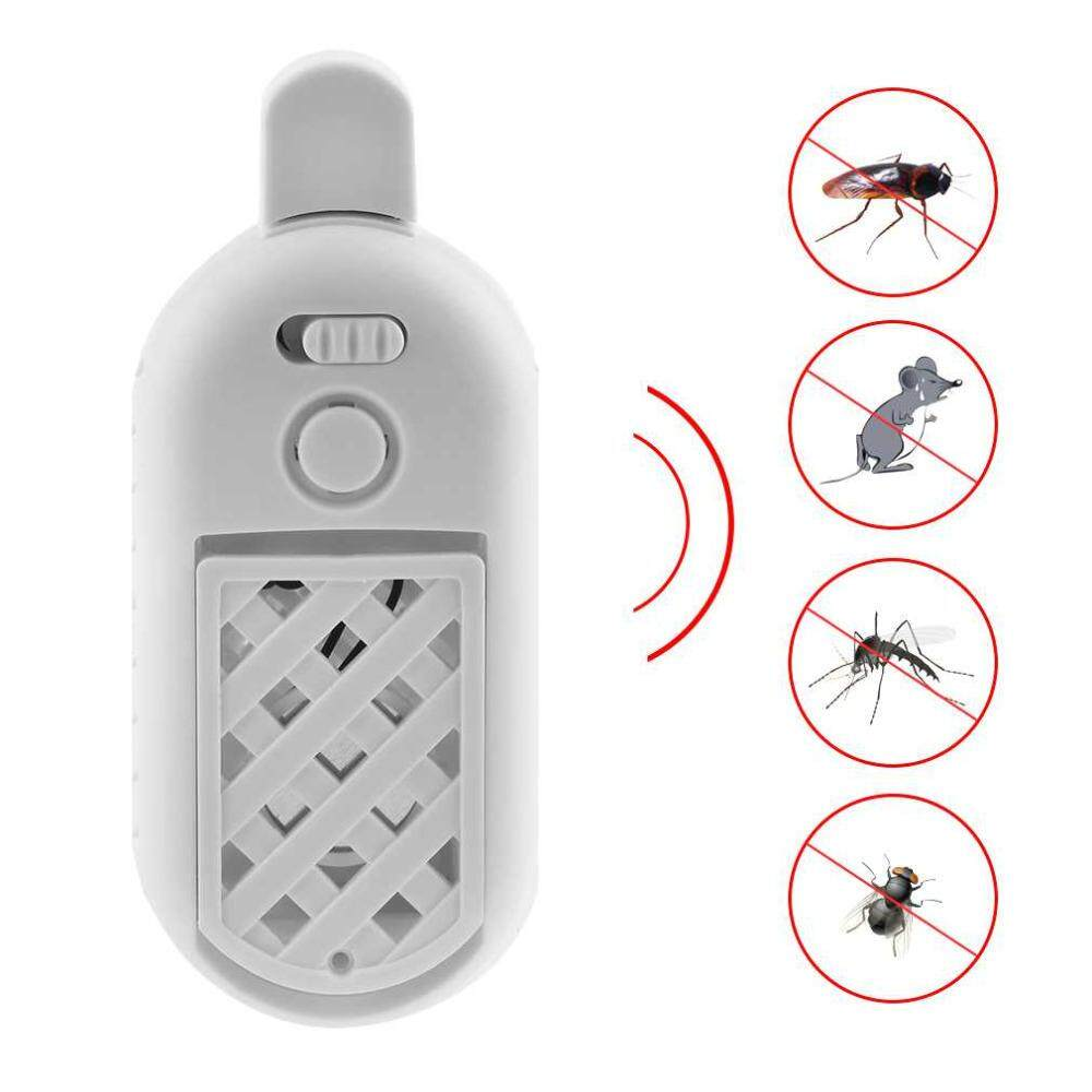 burstore 1PC USB Portable Ultrasonic Electronic Mosquito Repeller 5V 2A Indoor Mosquito Rodent Rat Mice Bug Insect Repellent