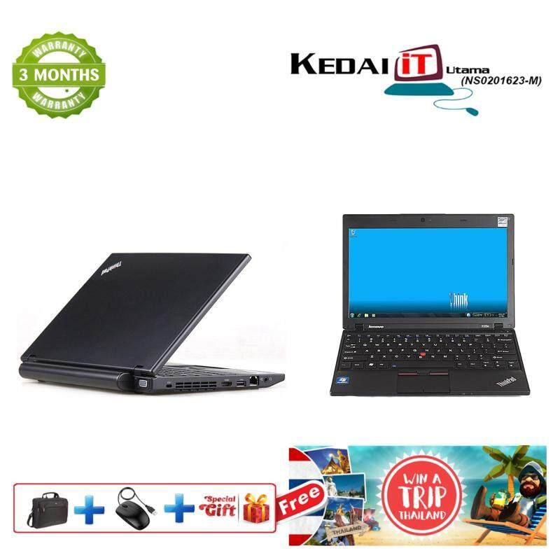 Lenovo X120E - 11.6 Windows 10/Win 7 HDMI, Wifi, WebCam , AMD, 250GB/320GB HDD , 2GB RAM, 3 Months Warranty (Black) Refurb Malaysia
