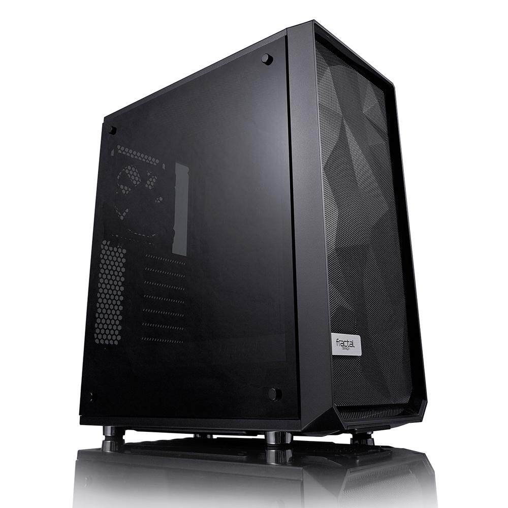 Fractal Design Meshify C – Dark TG Desktop PC Chassis, Dark Tempered Glass Malaysia