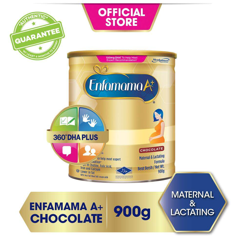 Enfamama A+ Chocolate - 900g By Lazada Retail Mead Johnson.