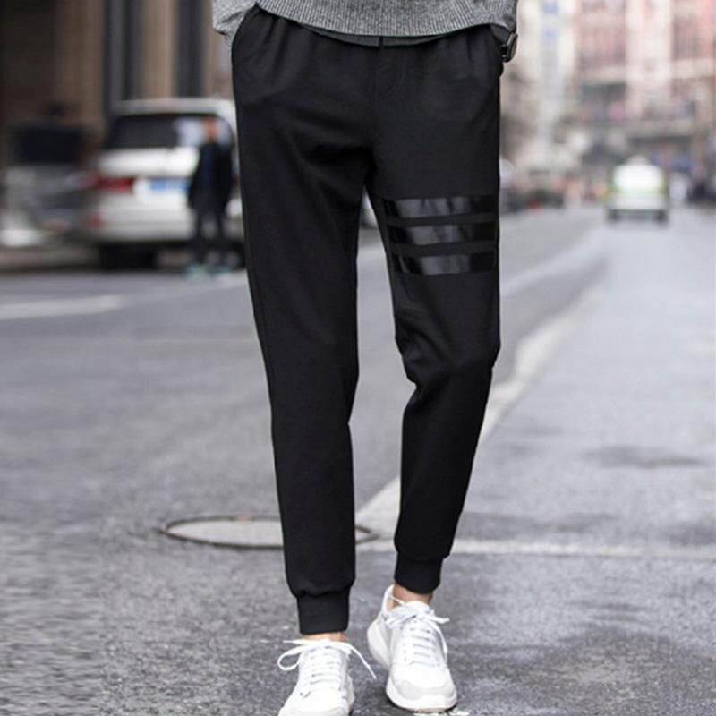 Ishowmall Male Casual Mens Trousers Cotton Slim Fit Jogger Sweatpants By Ishowmall.
