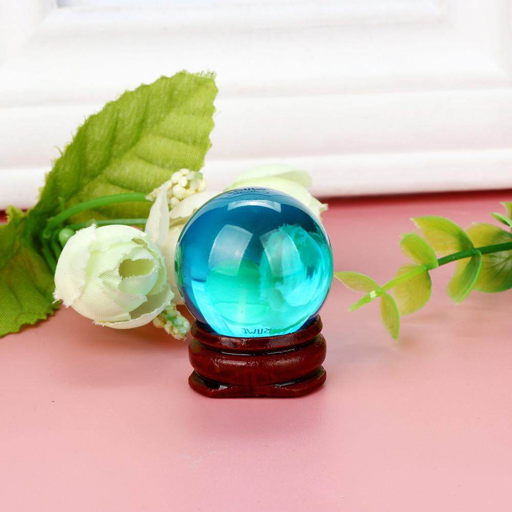 Hot!30mm Natural Quartz Magic Crystal Ball Healing Ball Sphere And Stand By Questre.