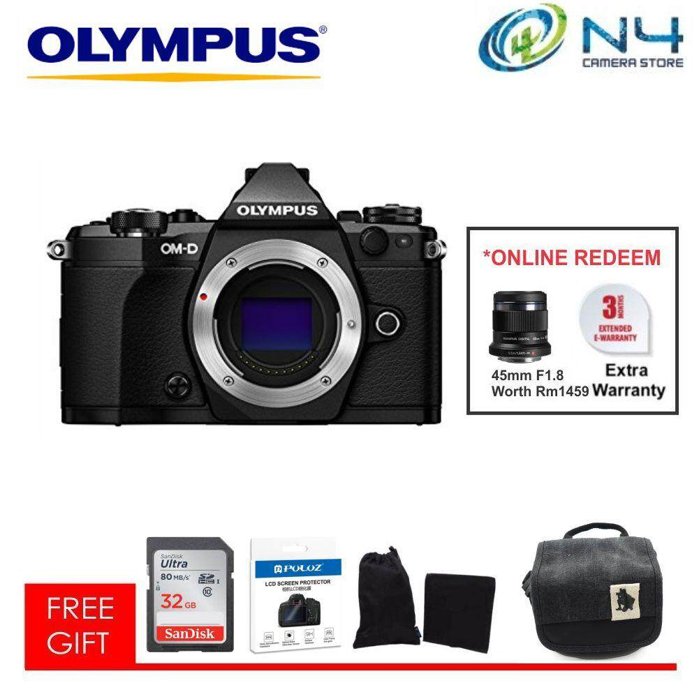 Olympus Mirrorless Cameras Price In Malaysia Best Om D E M10 Mark Iii Kit 14 42 Ez Mzuiko 45mm F 18 Silver Em5 Mkii Body 32gb Screen Protector Microfiber