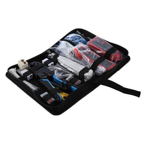 NETWORK COMPUTER MAINTENANCE TOOL KIT CABLE TESTER 200R NETWORK PLIERS WIRE TRACKER