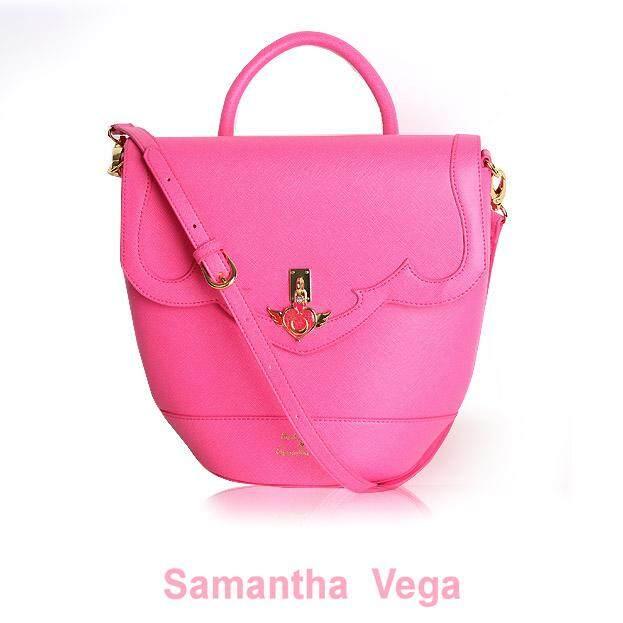 Samantha Vega Sailor Moon 2 Ways Bag Pink