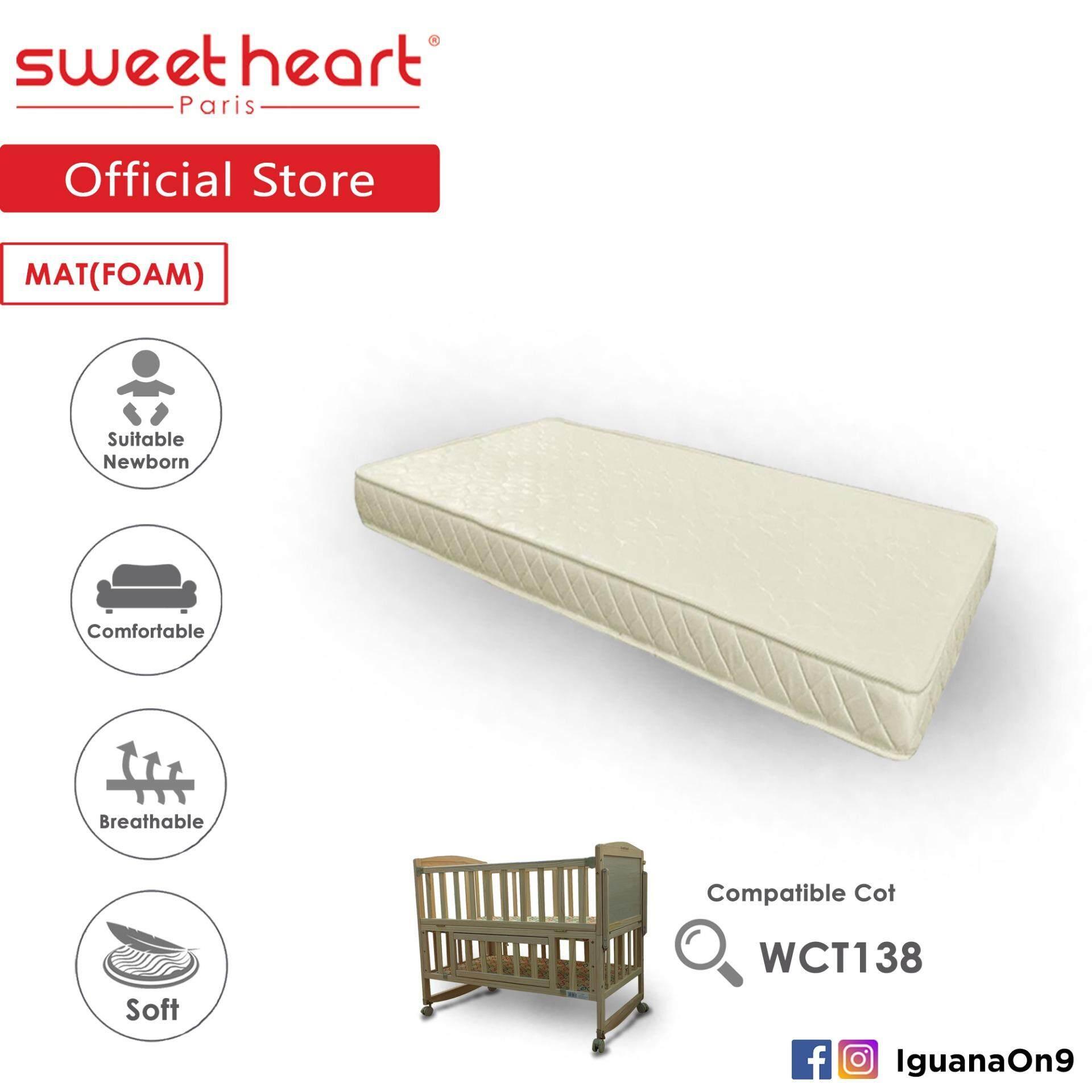 Sweet Heart Paris 5˝ Thickness Foam Mattress For SHP Wooden Cot WCT138