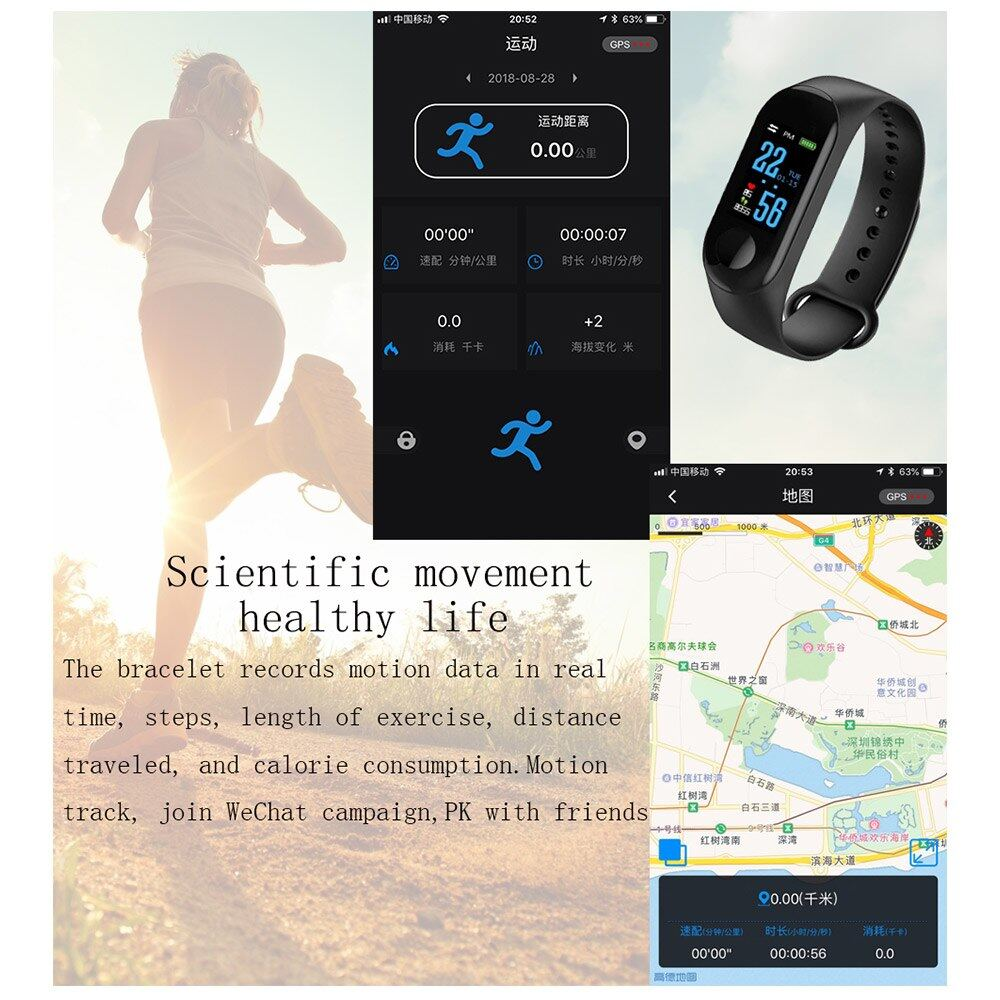 OEM Fitness Tracker, Heart Rate Monitor Smart Watch With Calorie Counter  Watch Pedometer Sleep Monitor, Step Counter, GPS, IP67 Waterproof Activity