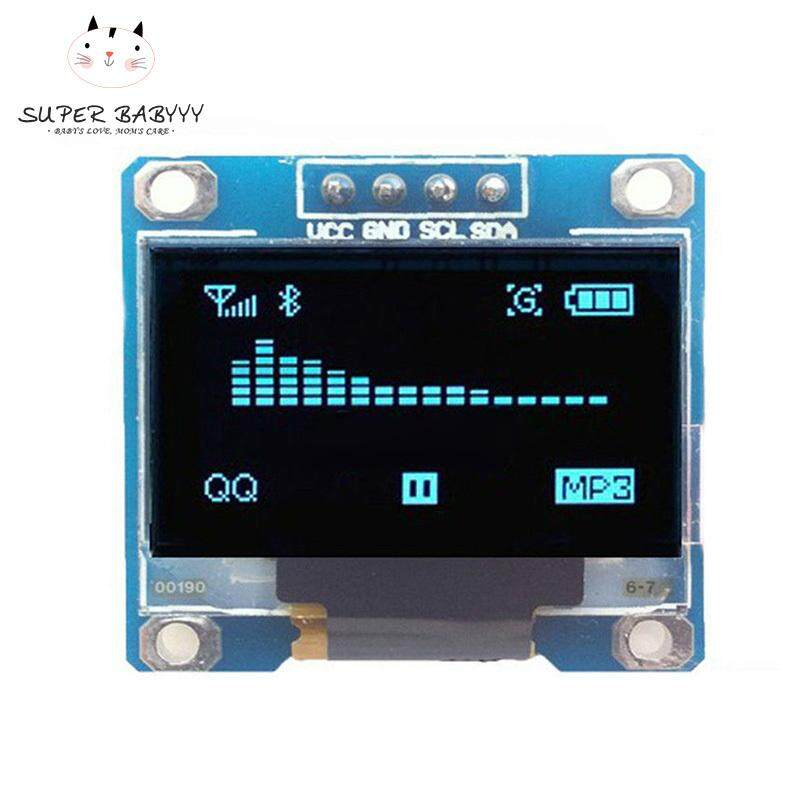 SBY 0.96inch I2C IIC Serial 128x64 Blue OLED LCD LED Display Module for Arduino Malaysia