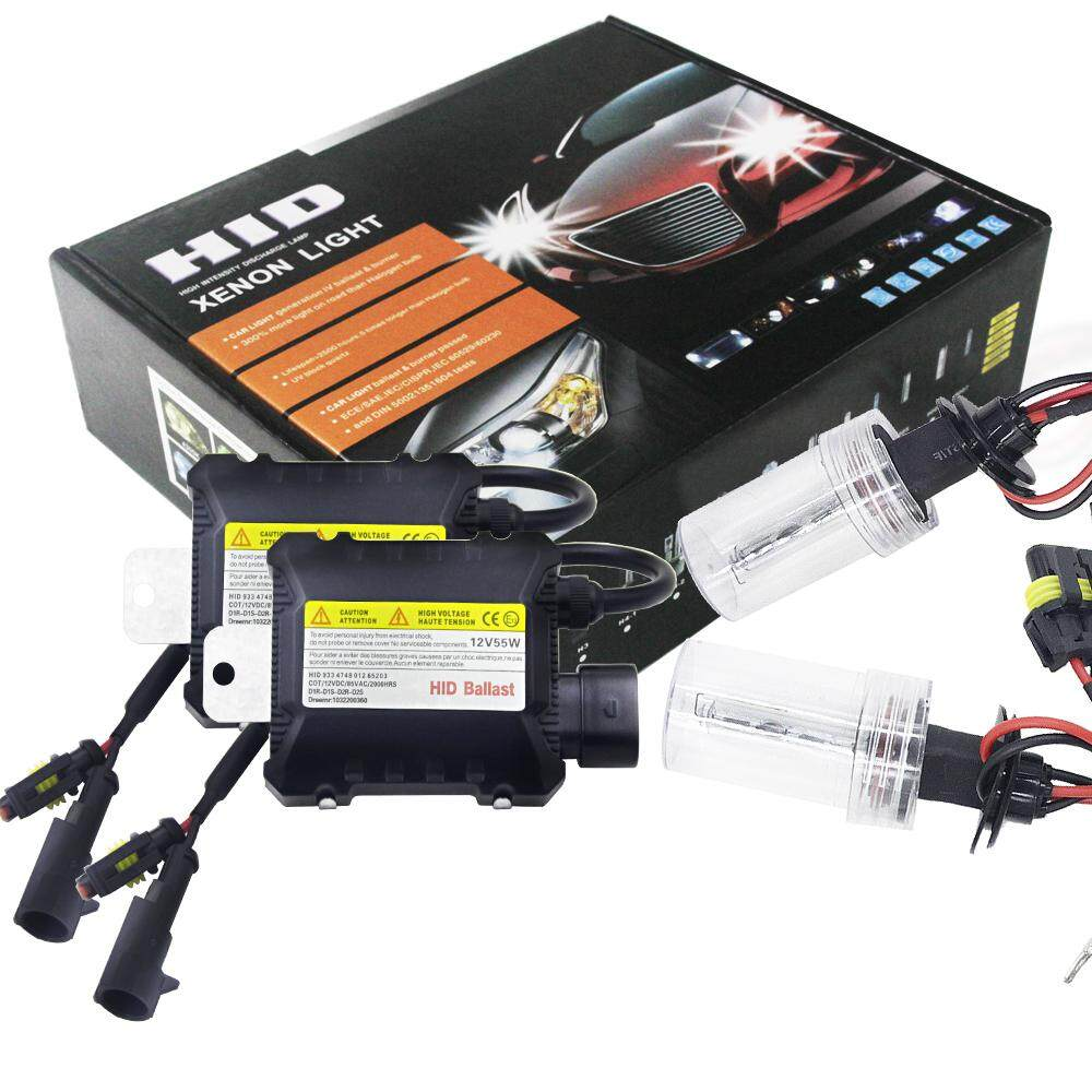 SK 3000K Bulbs + Ballasts 2pcs/set 55W H11/H8/H9 HID Xenon Headlight Bulbs  Conversion KIT 3000-12000K for Car Kit Type:Bulb*2 + Ballast*2 Color