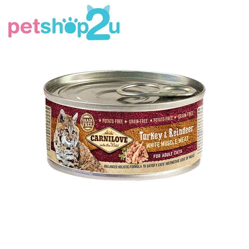 Malaysia Carnilove Turkey Reindeer For Cats 100g