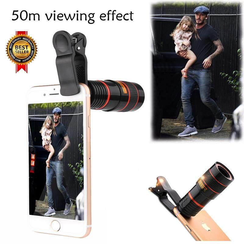 Letu Hot Sale Universal HD Clip 8X Zoom Telescope Camera Lens Mobile Phone Lense