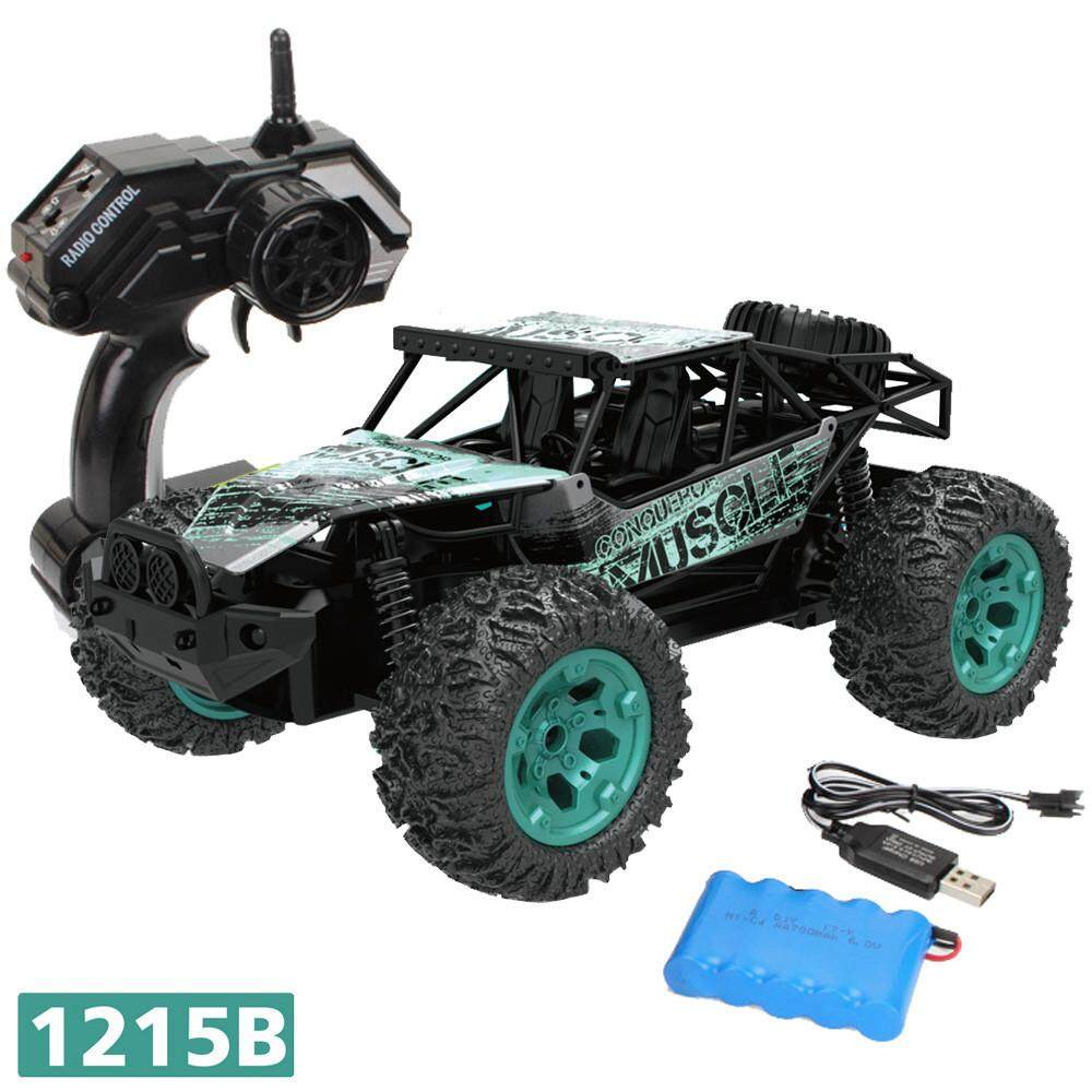 Watsonshop 1:12 2.4G Remote Control 2WD Off-Road Monster Truck High Speed RTR RC Car Toy