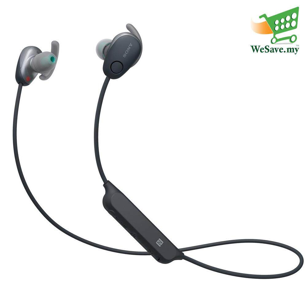 Sony WI-SP600N Black Wireless In-ear Sports Headphones WI-SP600N/B
