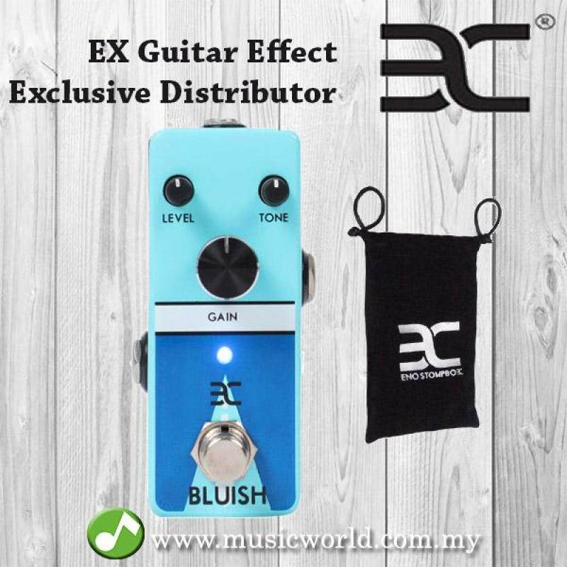 ENO EX Bluish Blue Box Electric Guitar Effect Pedal Malaysia
