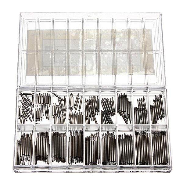 360pcs Stainless Steel Watch Band Spring Bars Strap Link Pins 6-25mm Repair Kit Malaysia