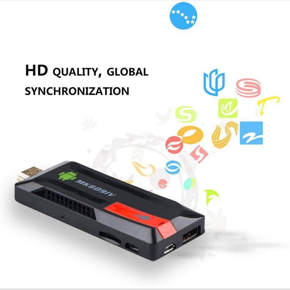 BGD HD 4K Mini PC TV Stick 2G+16G Quad Core Smart TV Dongle Stick for  Android