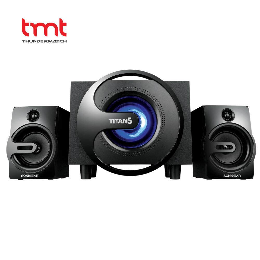Sonic Gear Products For The Best Price In Malaysia Speaker Kotak Aktif Usb Titan 5 Btmi 40watts Bluetooth 21 Multimedia With Led
