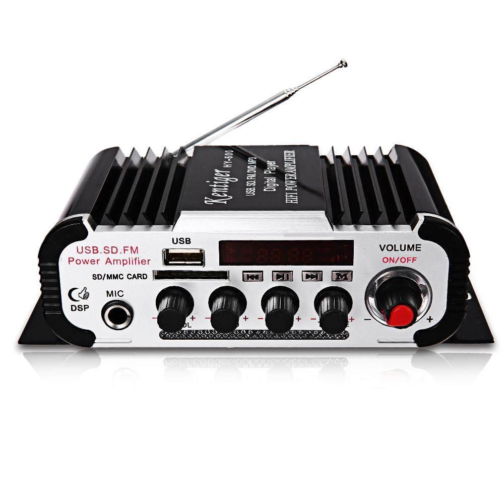 Kentiger HY - 600 IR Control FM MP3 USB Playback Digital Audio Amplifier Malaysia