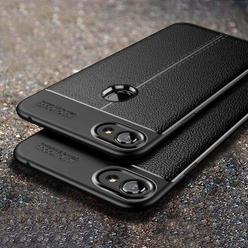 MYR 18. For OPPO F7 Litchi Leather Soft Silicon Protective Case Shockpproor Back CoverMYR18