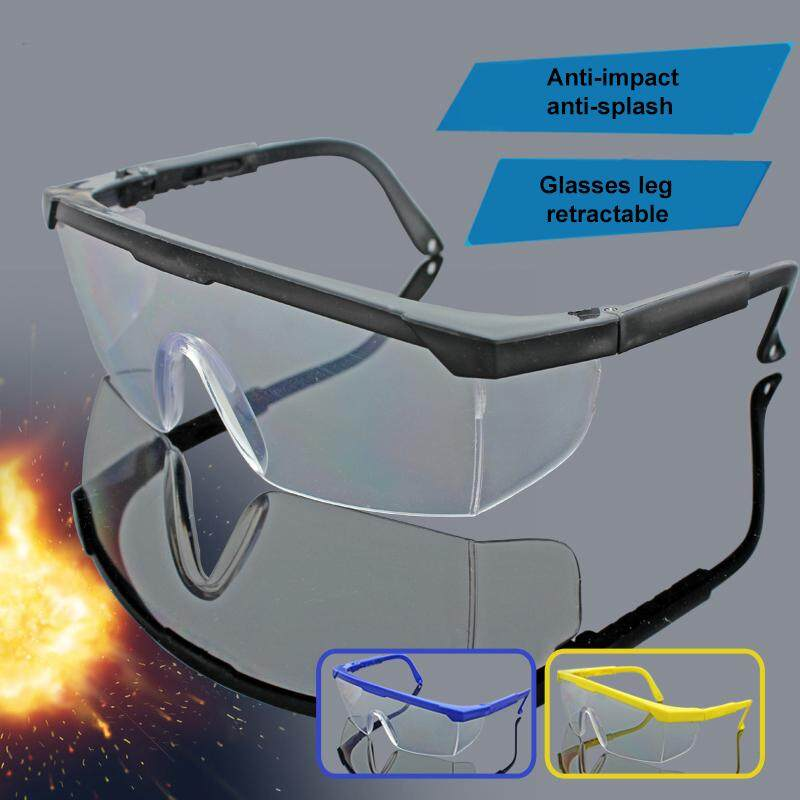 Outdoor Cycling Sand proof Telescopic Leg Protective Glasses Dust proof Splash Proof Goggles Glasses