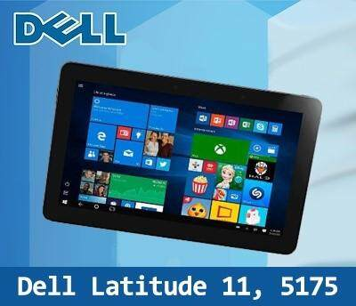 [Refurbished Tablet] Dell Latitude 11 5175 / Intel Core M / 8GB RAM / 256GB SSD / Window 10 / One Month Warranty Malaysia