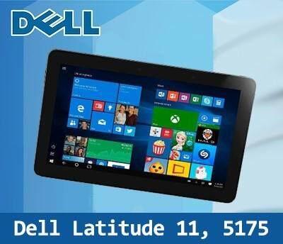 [Refurbished Tablet] Dell Latitude 11 5175 / Intel Core M / 8GB RAM / 256GB SSD / Window 10 / One Month Warranty Malaysia